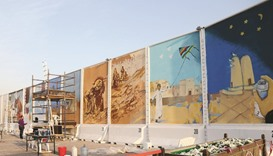 Katara invites artists for second murals project