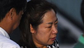The wife of a South Korean businessman, who was kidnapped and murdered