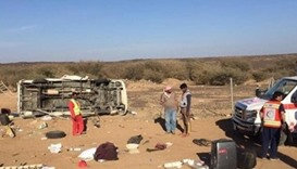 Saudi Arabia road accident in which six British citizens were killed