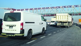 Traffic near Barwa Signal slows to a crawl during peak hours.