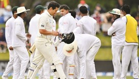 Test in balance as Shakib magic cleans out NZ middle order