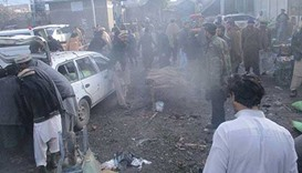 Blast kills at least 20 in Pakistan vegetable market