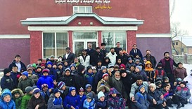 'Competitors' team visits Qatar Charity project in Kyrgyzstan