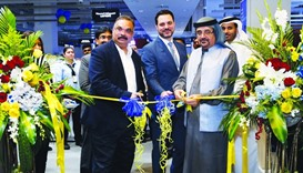 The opening ceremony of Sharaf DG in the Mall of Qatar. PICTURE: Jayaram.