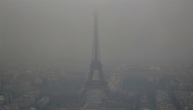 Europe chokes under freezing smog