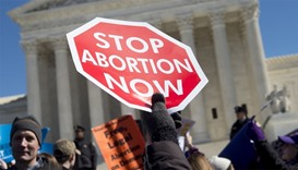 US anti-abortion activists ready to raise their voices