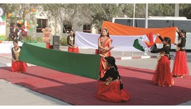 India's 68th Republic Day was celebrated at Doha Modern Indian School with a cultural programme yest