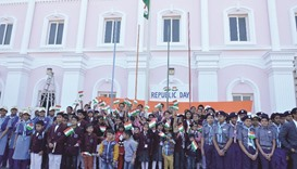 Birla Public School marked the 68th Republic Day of India at its main school campus yesterday.