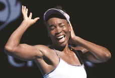 Illness, injuries didn't stop Venus believing