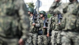 Turkish NATO soldiers