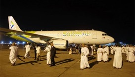 Omani budget airline SalamAir takes off