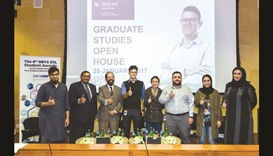 Tamuq hosts open house for master's students