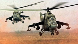 Two Russian pilots die in army helicopter crashes in DR Congo