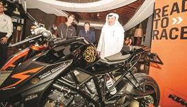 Alfardan hosts world launch of Super Duke 1290R – 2017