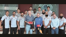 Bachar Houli Academy athletes complete camp at Aspire Academy