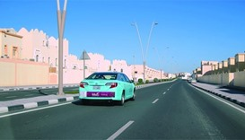 Residents seek taxis in newly developed areas of Doha