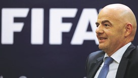 Infantino slams 'fake news' surrounding FIFA