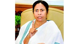 Mamata asks president to 'save' India, oust Modi