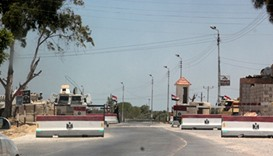 A checkpoint in the north Sinai city of El-Arish