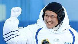 Japanese astronaut apologises for saying height has increased