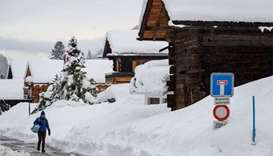Trains to restart from Swiss ski resort after heavy snowfall