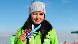 India celebrates as woman wins its first international skiing medal