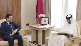 Emir gets letter from Moroccan king