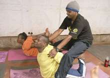 How a yoga charity aims to solve youth unemployment in Africa