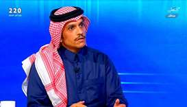HE the Foreign Minister Mohamed bin Abdulrahman al-Thani