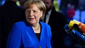 'Big obstacles' still in way of Germany coalition deal: Merkel