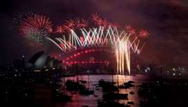 Cities across the world welcome 2018 with fireworks, celebrations
