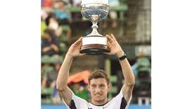 Carreno Busta lifts Kooyong title with win over Ebden