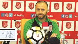 Would like to start from where we left off: Belmadi