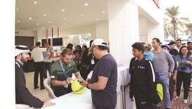 Exciting activities at Qatar ExxonMobil Open