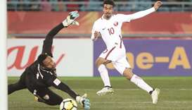 Qatar on verge of last-8 spot after 1-0 victory over Oman