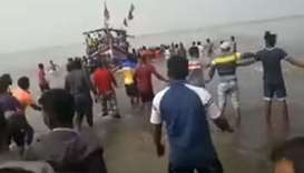 Boat with 40 students capsizes in India