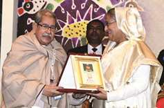 PM Hasina calls for literary pursuit for self-enlightenment