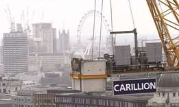 UK govt keeps 'close eye' on struggling firm Carillion