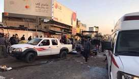 Suicide attack in Baghdad kills at least 25