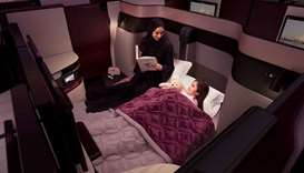 Qsuite, Qatar Airways B777