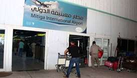 10 killed in clashes at Libya's main international airport