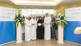 HE the Minister of Public Health Dr Hanan Mohamed al-Kuwari inaugurates HMC's Tobacco Control Center