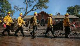California rescuers search for victims of deadly mudslides