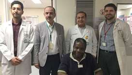 HMC surgeons successfully reattach severed foot