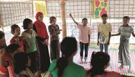 Educating Myanmar's youngest refugees