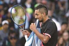 Nadal takes centre stage ahead of Kyrgios clash
