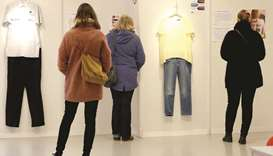 Brussels recreates rape victim outfits for exhibition