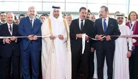 Economy minister opens 'Expo Turkey by Qatar 2018'