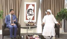 QFA President receives Iraq's Sports Minister