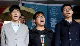 Hong Kong democracy activist Joshua Wong jailed over protest